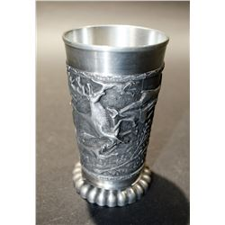 Silver Chalice (95% Zinn) & Collector Mug