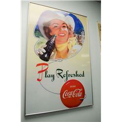 Coca-Cola Print - Framed