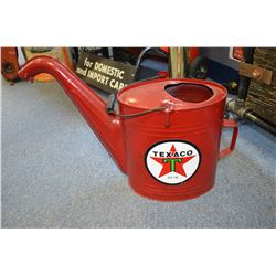 Refurbished Texaco Oil Can
