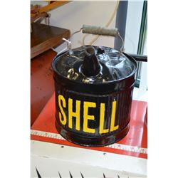 Refurbished Shell Gas Can