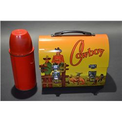 Cowboy Tin Lunch Kit
