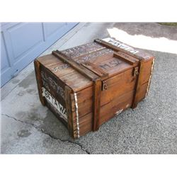 Old Shipping Crate