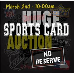 Next Auction - Sports Cards (Mostly all Graded)