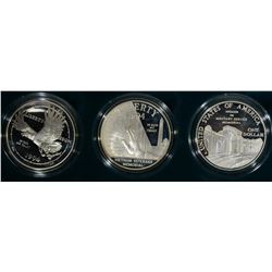1994 VETERANS PROOF SILVER DOLLARS