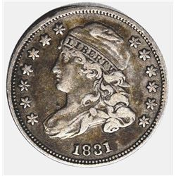 1831 CAPPED BUST DIME, XF