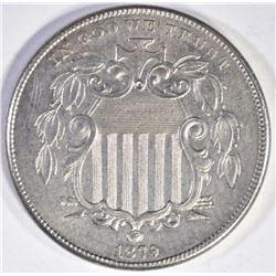 1879 PROOF SHIELD NICKEL CH/GEM PF