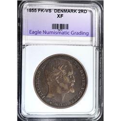 1855 FK-VS DENMARK 2 RD , ENG XF