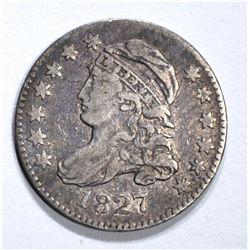 1827 BUST DIME, VF/XF
