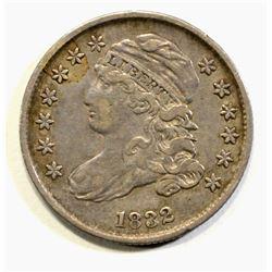 1832 CAPPED BUST DIME, AU