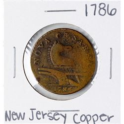 1786 New Jersey Colonial Copper Coin