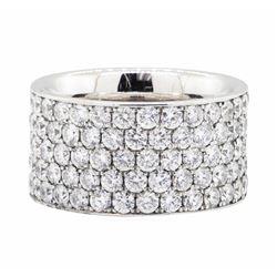 14KT White Gold 5.25 ctw Diamond Eternity Ring