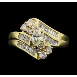 14KT Yellow Gold 1.03 ctw Diamond Ring