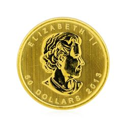 2013 Canada $50 Maple Leaf 1 oz. Gold Coin