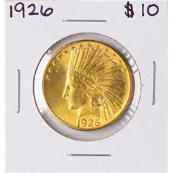 1926 $10 Indian Head Eagle Gold Coin