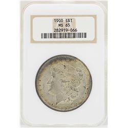1900 $1 Morgan Silver Dollar Coin NGC MS65