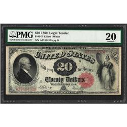 1880 $20 Legal Tender Note Fr.147 PMG Very Fine 20