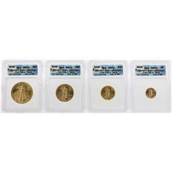 2005 American Gold Eagle Majestic Eagle Collection Set ICG MS70