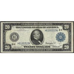 1914 $20 Federal Reserve Note St. Louis