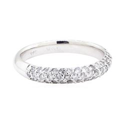 14KT White Gold 0.50 ctw Diamond Band
