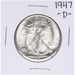 1947-D Walking Liberty Half Dollar Coin