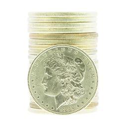 Roll of (20) 1885 $1 Brilliant Uncirculated Morgan Silver Dollar Coins