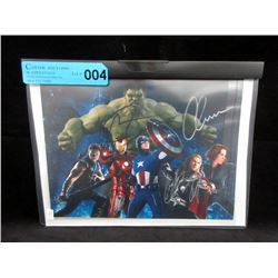 "Autographed 8"" x 10"" ""The Avengers"" Photo"