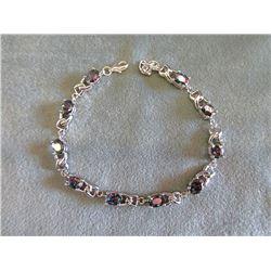 12 CTW Mystic Topaz Tennis Bracelet