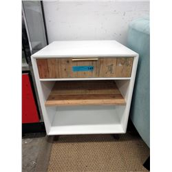End Table with Shelf & Drawer - Floor Sample
