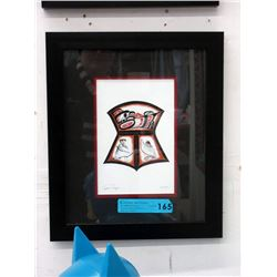 "Richard Shorty Framed Print  - ""Copper Design"""