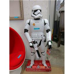 "New 50"" Animated Storm Trooper Battle Buddy"