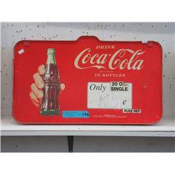 1992 Coca-Cola Retail Advertising Sign