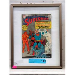Framed 1966 Superman #190 12¢ DC Comic