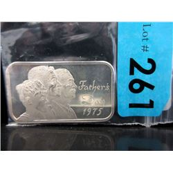 1 Oz Madison Mint .999 Silver Art Bar