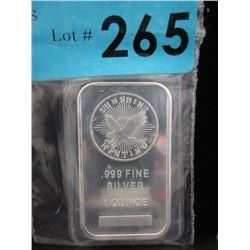 1 Oz. Sunshine Minting .999 Silver Bar