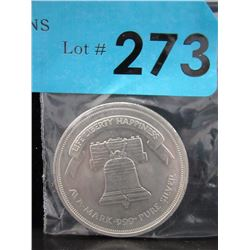1 Oz A-Mark .999 Silver Art Round
