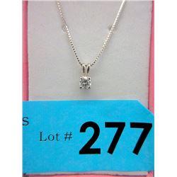 .30 Carat Diamond Solitaire Necklace