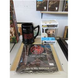 """3 """"Game of Thrones"""" Collectibles"""