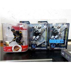 3 McFarlanes Hockey Figurines