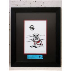 Richard Shorty Framed Print - Snowy Owl