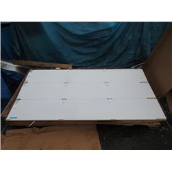New White Roll Up 6 Panel Door for Truck