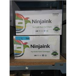 6 Assorted New Ninjaink Toner Cartridges