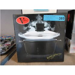 """New 9"""" Soup Pot with Glass Lid"""