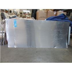 2 New Polished Checker Plate Sheets