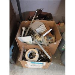 3 Boxes of Assorted Home Repair Items