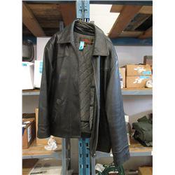 Danier Leather Jacket - Size L