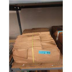 2 Bundles of Handled Brown Paper Bags