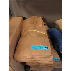 2 Bundles of Brown Paper Bags with Handles