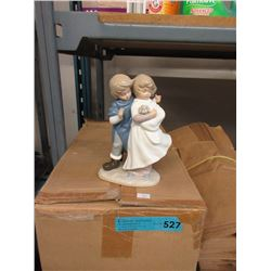 """Case of 12 New 8"""" Porcelain Figurines"""
