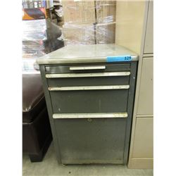 Vintage Metal 2 Drawer File Cabinet