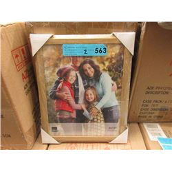"2 Cases of 12 New 8"" x 10"" Oak Picture Frames"
